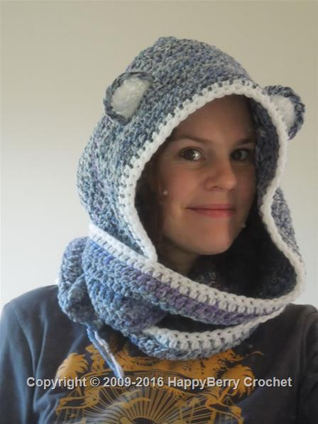 Free Knit Scoodie Pattern : Bear Scoodie HappyBerry