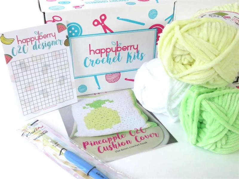 Washclothes Crochet Kit