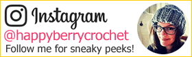 Follow HappyBerryCrochet on Instagram