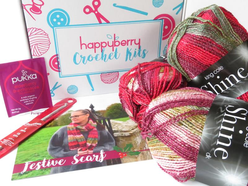 Scarf Crochet Kit