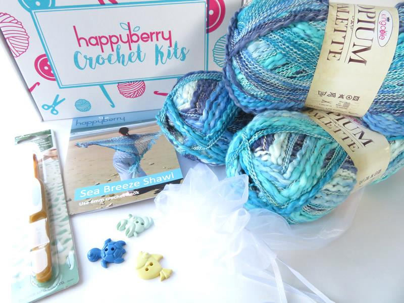 Shawl Crochet Kit