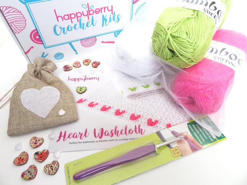 Washcloths Crochet Kit
