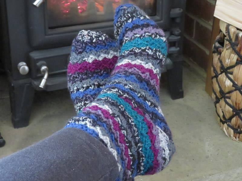 Cosy Socks Crochet Kit