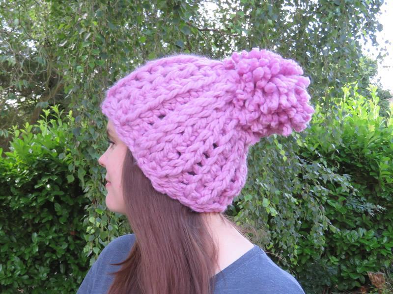 Big Beanie Crochet Kit