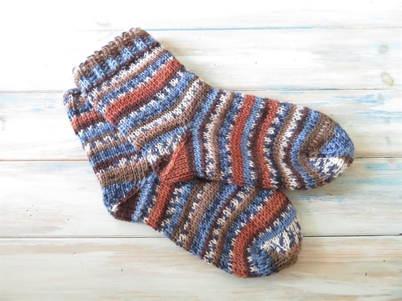 Socks Tunisian Crochet Kit
