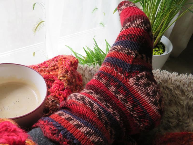 Zig Zag Socks Knitting Kit