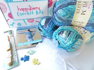 Sea Breeze Shawl Crochet Kit