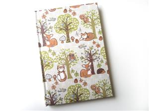 A5 Woodland Themed Note Book