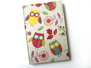A5 Owl Themed Note Book