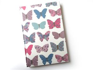 A5 Butterfly Themed Note Book