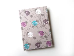 A6 Button Themed Note Book