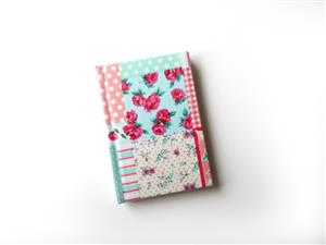 A7 Rose Themed Note Book