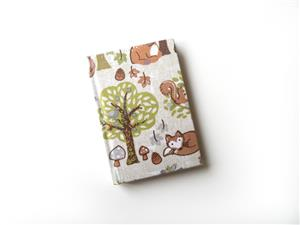 A7 Woodland Themed Note Book