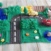 HappyBerry Road Playmat