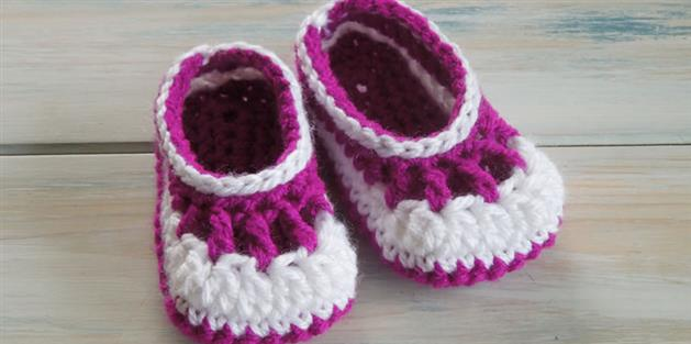 Baby Babble Booties