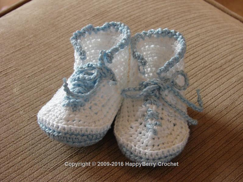 Baby Boy Blue Trainers/Sneakers