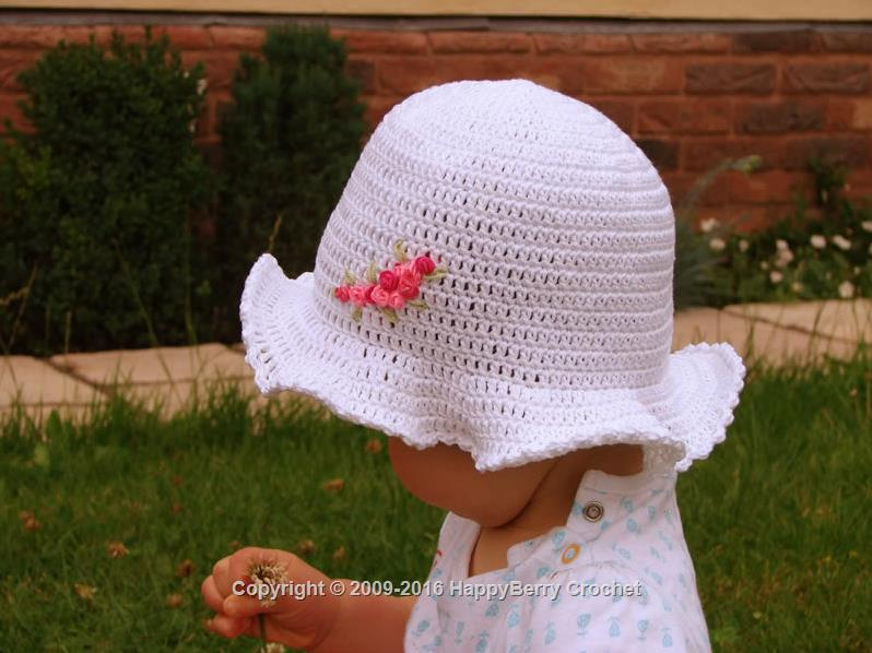Wedding Rose Hat