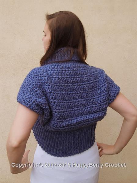 Design Your Own Shrug Bolero