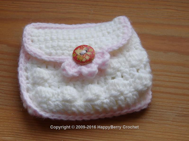 Metal Frame Coin Purse Free Crochet Patterns | 598x798