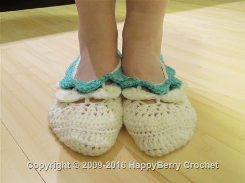 Crocodile Stitch Slipper Socks