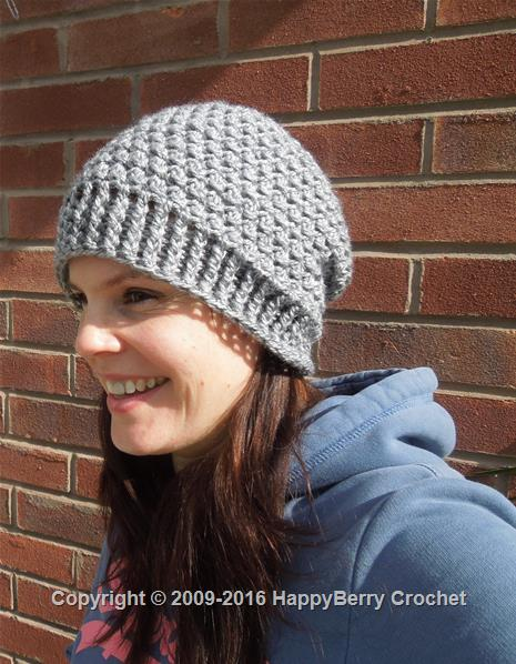 Cluster Beanie and Fingerless Mitten Set