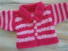 Broomstick Baby Cardigan