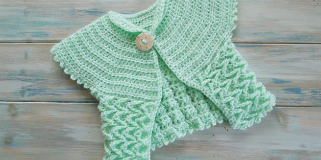 Butterfly Breeze Baby Cardigan