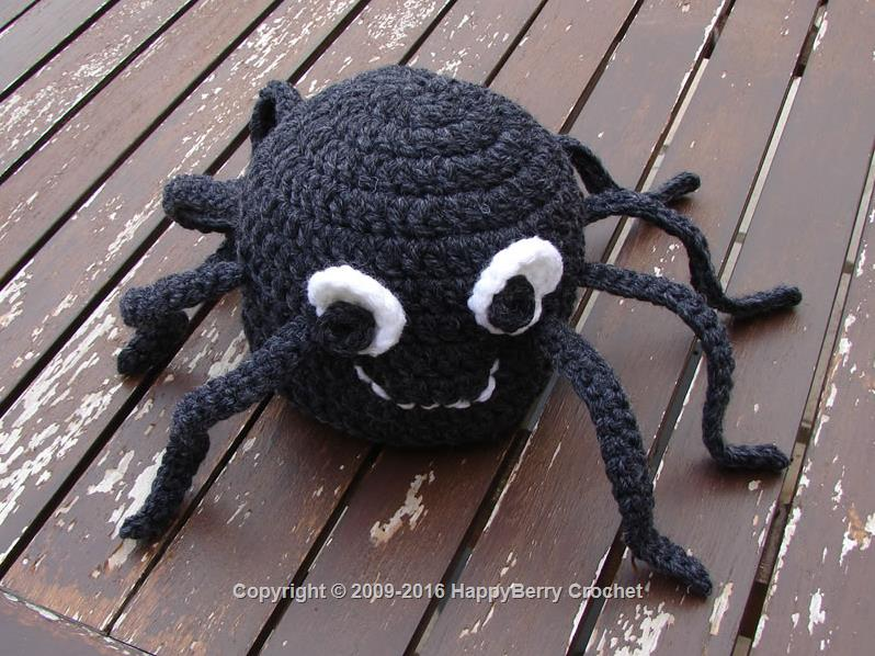 Crochet Spider Hat