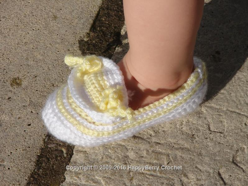 Lemon Ribbed Shoes