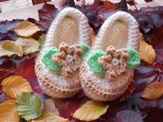Leafy Steps Baby Shoes