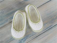 Pretty Crochet Picot Booties