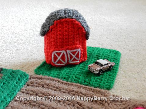 Crochet Beach Hut