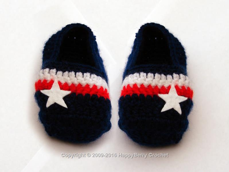 Star n Stripes Slippers