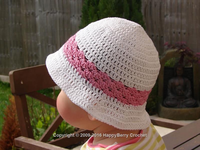Baby Summer Shell Hat