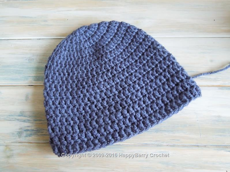 Simple Beanie for Teens to Small Ladies Size