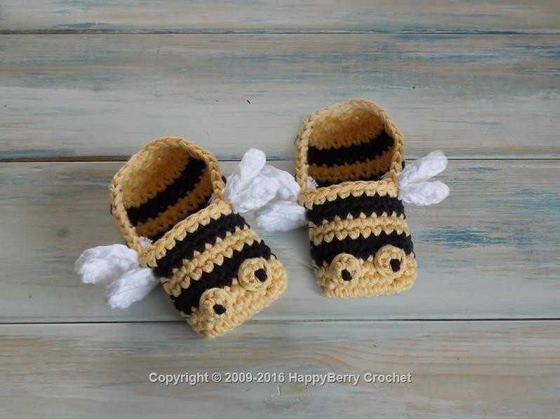 Bumblebee Booties Happyberry