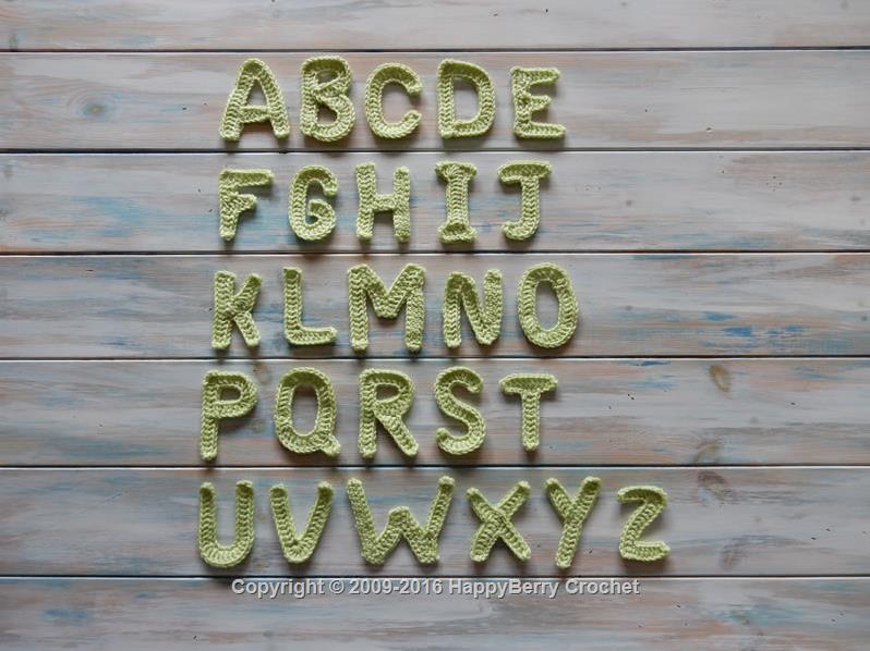 Alphabet Letters | HappyBerry