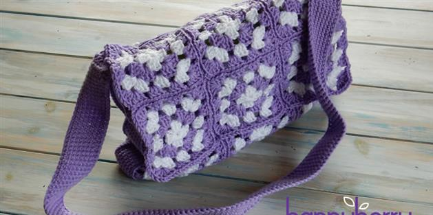 Simple Granny Square Bag