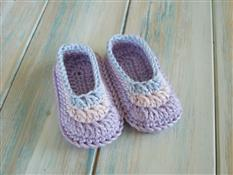 Simple Newborn Baby Booties