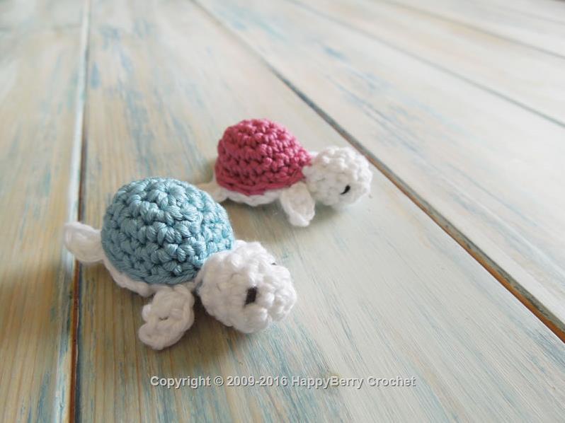 Amigurumi Turtle Pattern : Baby turtle happyberry