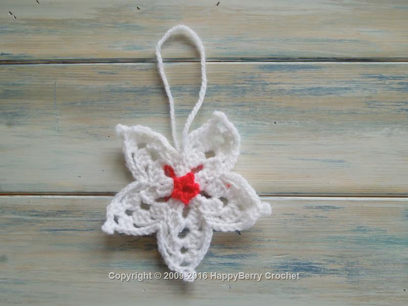 Crochet Star Flower