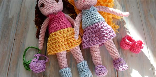 Amigurumi Dress-up Doll