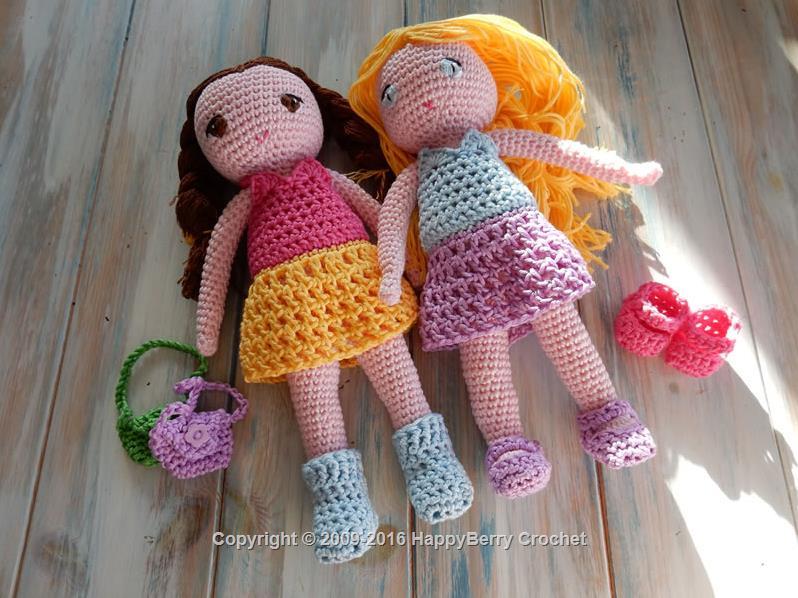Free Amigurumi Patterns Uk : Amigurumi cuddly toys free crochet patterns happyberry