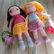 HappyBerry Amigurumi Dress-up Doll