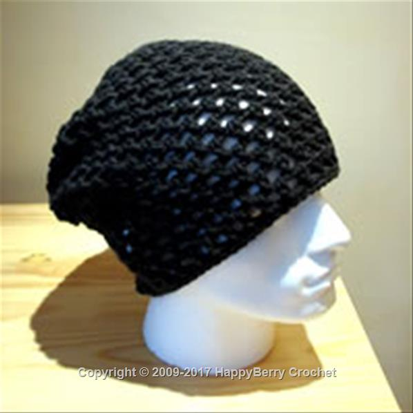 Free Crochet Pattern For Skull Beanie : Skull Cap Beanie HappyBerry