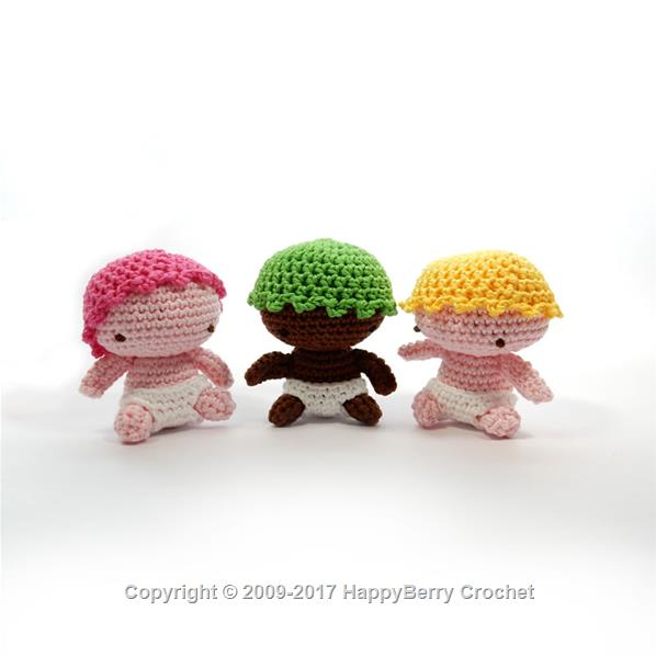 Amigurumi Baby Happyberry