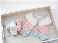 Candyfloss Baby Cardigan