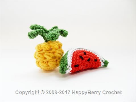 Mini Pineapple and Watermelon