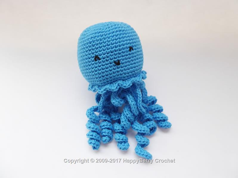 UK Preemie Octopus HappyBerry Inspiration Octopus Crochet Pattern