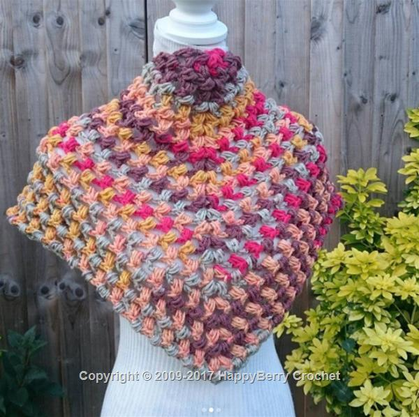b8f8ad5c7c7 Crochet Knit Stitch Beanie · Puff Stitch Shawl